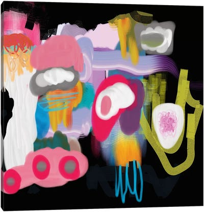 Super Groovy Canvas Art Print