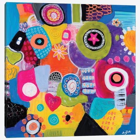 Synchronicity Canvas Print #CAU44} by Christine Auda Canvas Artwork