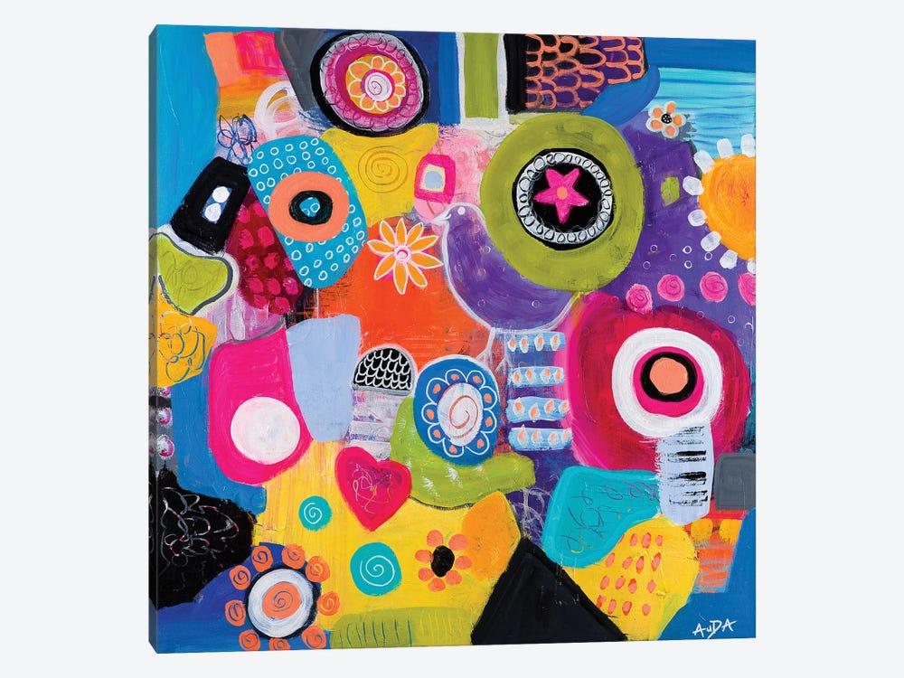 Synchronicity by Christine Auda 1-piece Canvas Wall Art