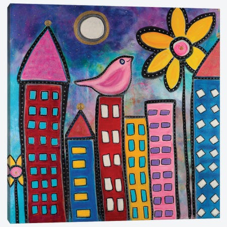 Urban Bliss Canvas Print #CAU48} by Christine Auda Canvas Art Print