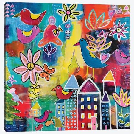 Utopia Canvas Print #CAU49} by Christine Auda Art Print
