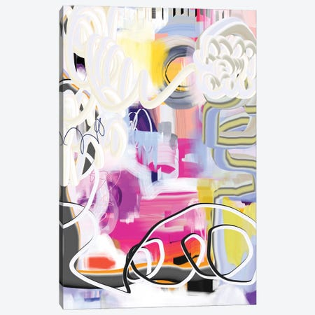 Exuberant  Canvas Print #CAU52} by Christine Auda Canvas Wall Art