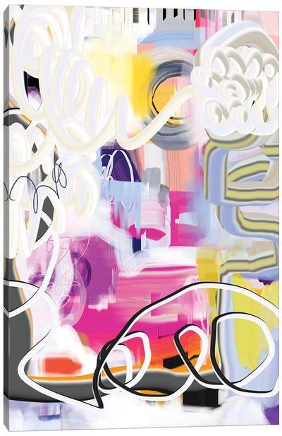 Exuberant  Canvas Art Print