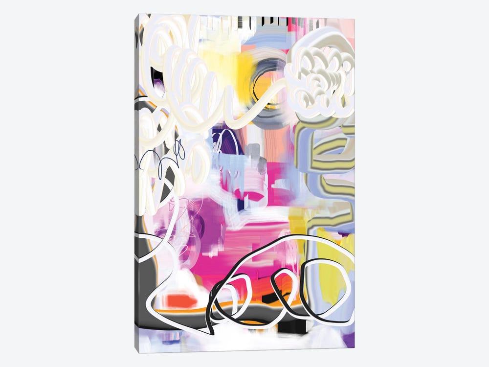 Exuberant  by Christine Auda 1-piece Canvas Print