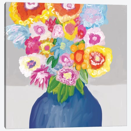 In Bloom  Canvas Print #CAU53} by Christine Auda Canvas Artwork