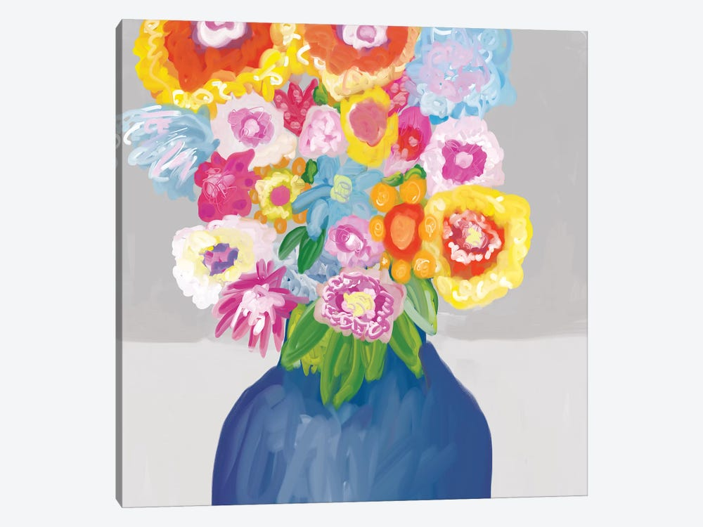 In Bloom  by Christine Auda 1-piece Canvas Artwork