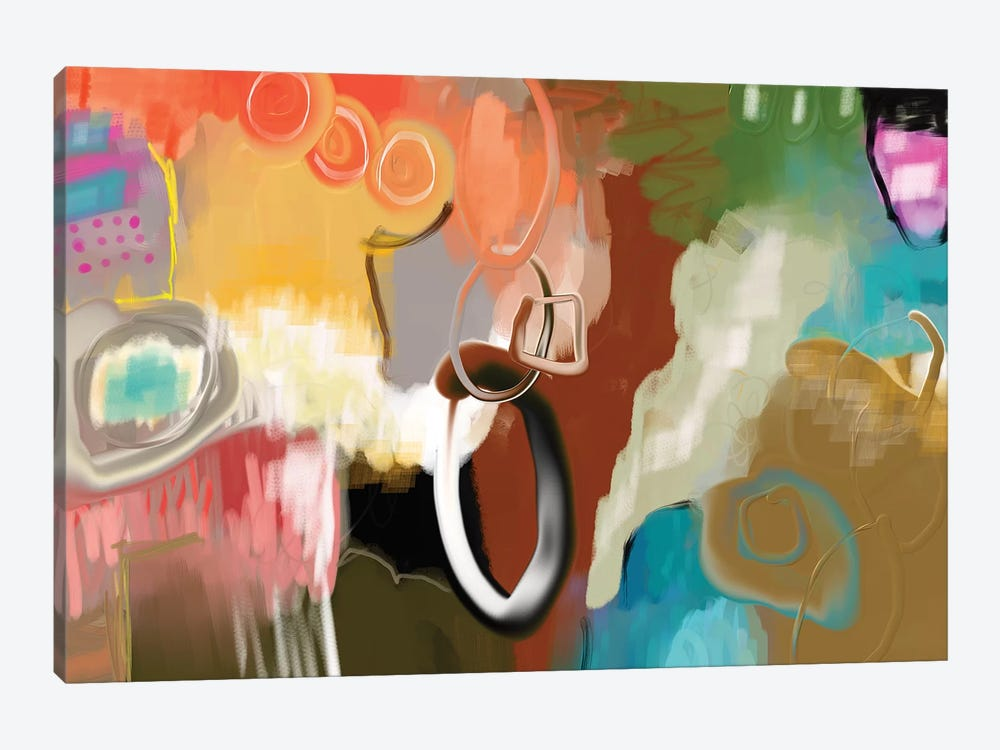 Saddle Up  by Christine Auda 1-piece Canvas Print
