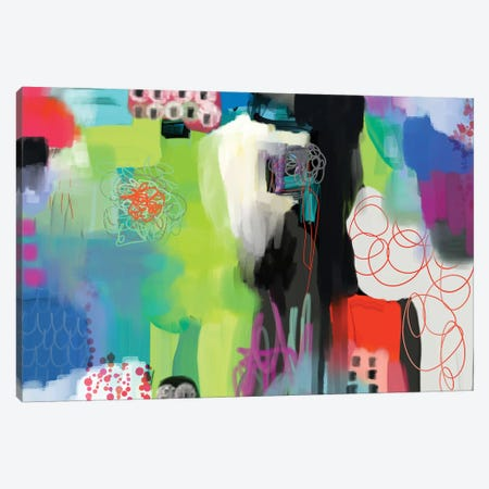 Spring Fling  Canvas Print #CAU57} by Christine Auda Art Print