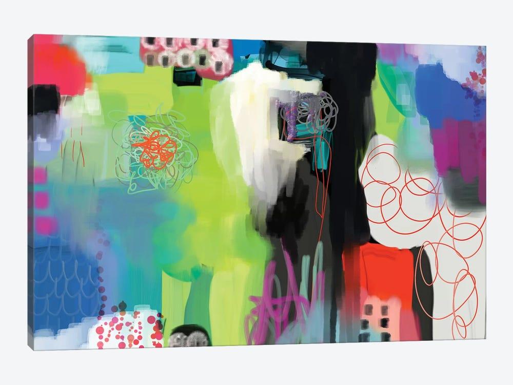 Spring Fling  by Christine Auda 1-piece Canvas Artwork