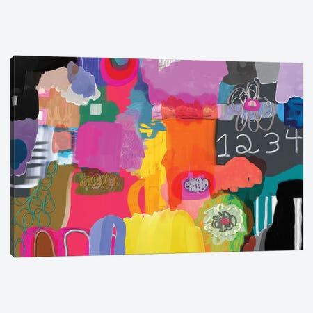 1234 Canvas Print #CAU58} by Christine Auda Canvas Art
