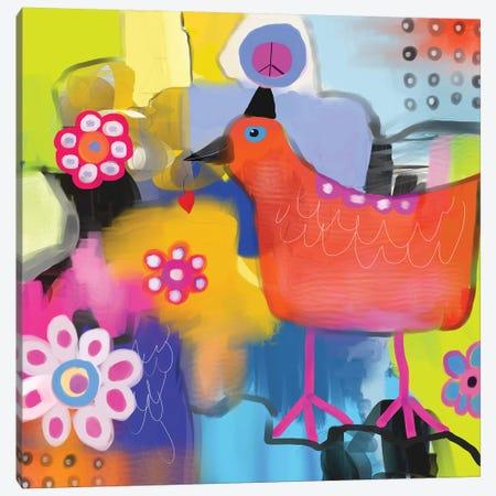 Bird of Peace Canvas Print #CAU59} by Christine Auda Canvas Wall Art