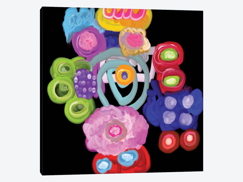 Celebration by Christine Auda 1-piece Canvas Artwork