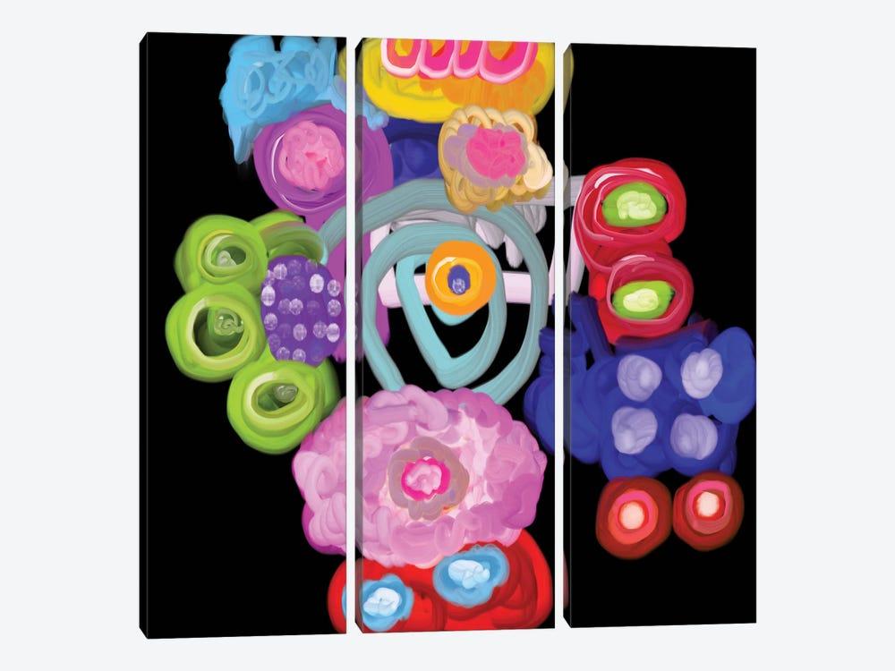 Celebration by Christine Auda 3-piece Canvas Art