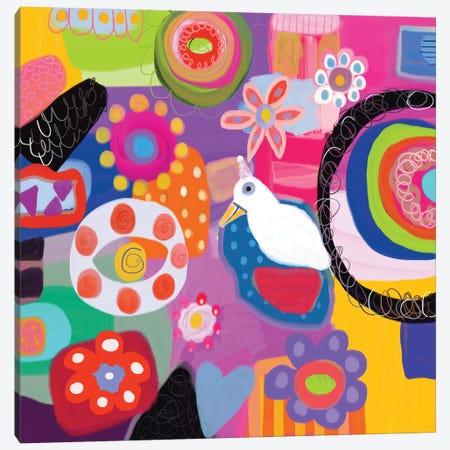 Garden Party Canvas Print #CAU61} by Christine Auda Canvas Print
