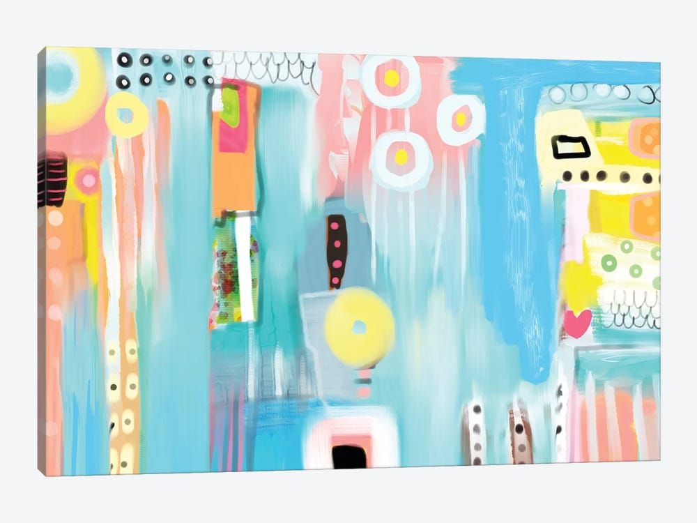 Inclusive by Christine Auda 1-piece Canvas Wall Art