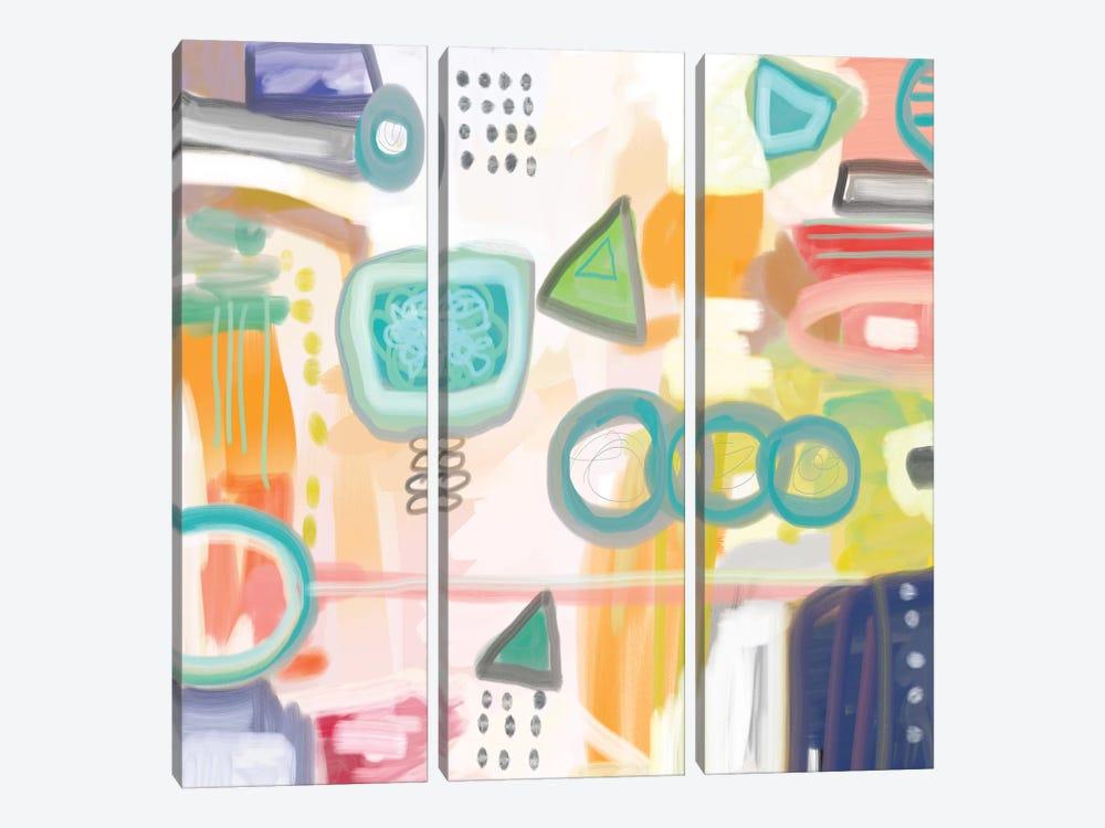 Kismet by Christine Auda 3-piece Canvas Wall Art