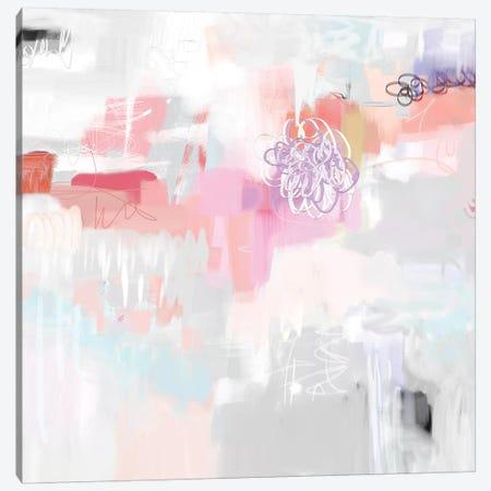 Lone Flower Canvas Print #CAU65} by Christine Auda Canvas Wall Art