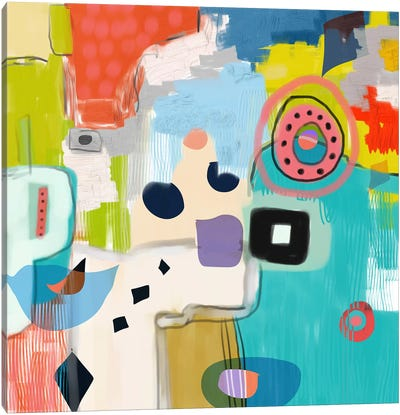 Shapeshifting Canvas Art Print
