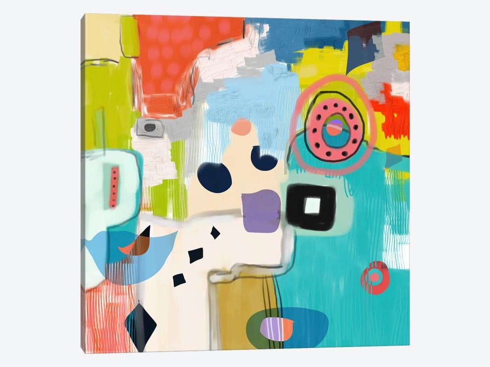 Shapeshifting by Christine Auda 1-piece Canvas Art Print