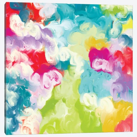 Spring Blossoms Canvas Print #CAU68} by Christine Auda Canvas Art Print