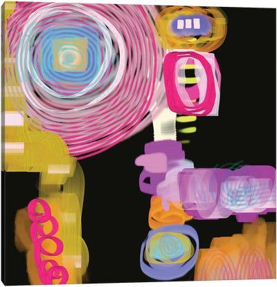 Curly Q Canvas Art Print