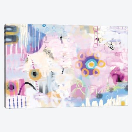 Shy Flower Canvas Print #CAU73} by Christine Auda Canvas Artwork