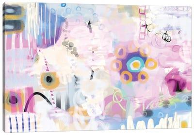 Shy Flower Canvas Art Print