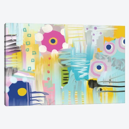 Wallflower Canvas Print #CAU76} by Christine Auda Art Print