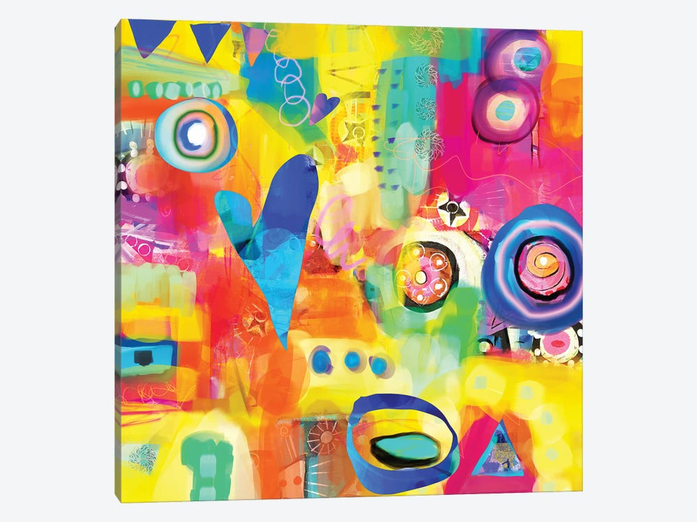 Dance Party by Christine Auda 1-piece Canvas Art