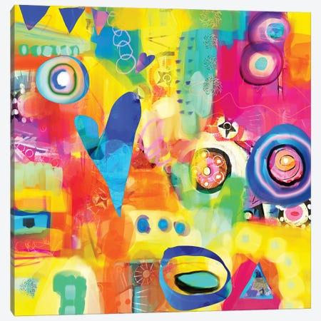 Dance Party Canvas Print #CAU7} by Christine Auda Canvas Print