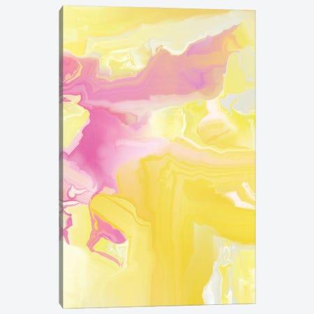 Yellow My World VI Canvas Print #CAU80} by Christine Auda Art Print