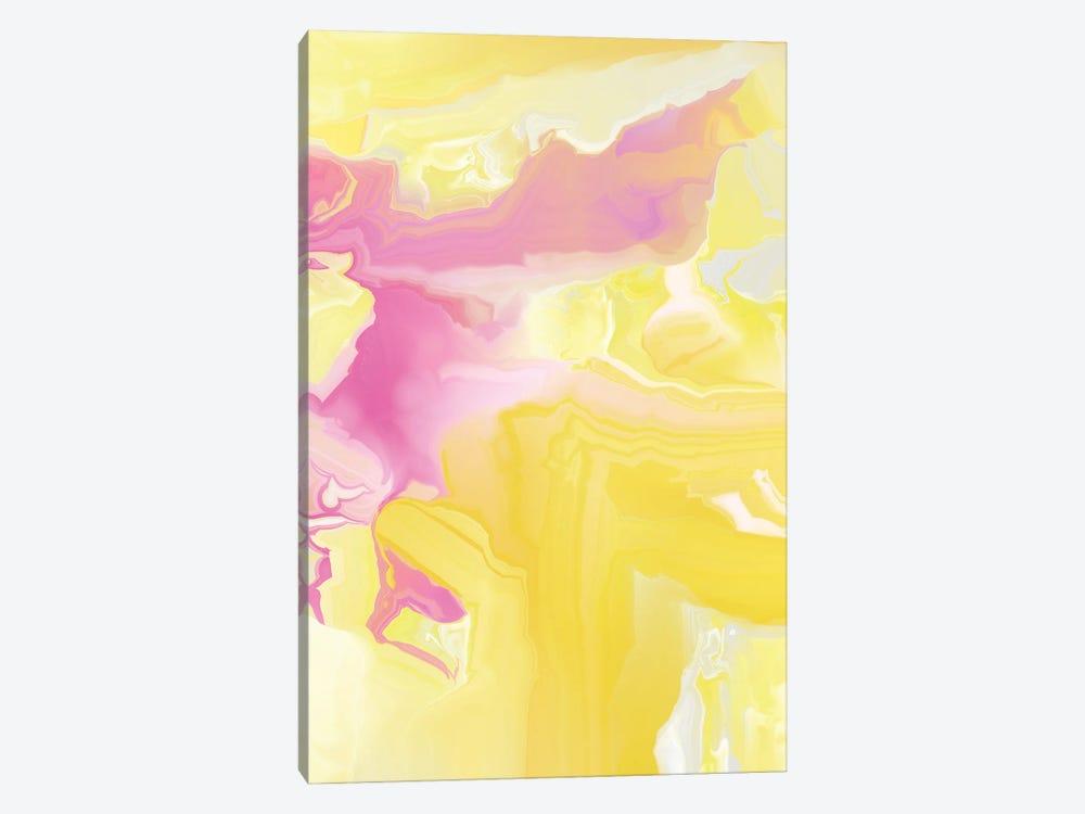 Yellow My World VI by Christine Auda 1-piece Canvas Artwork