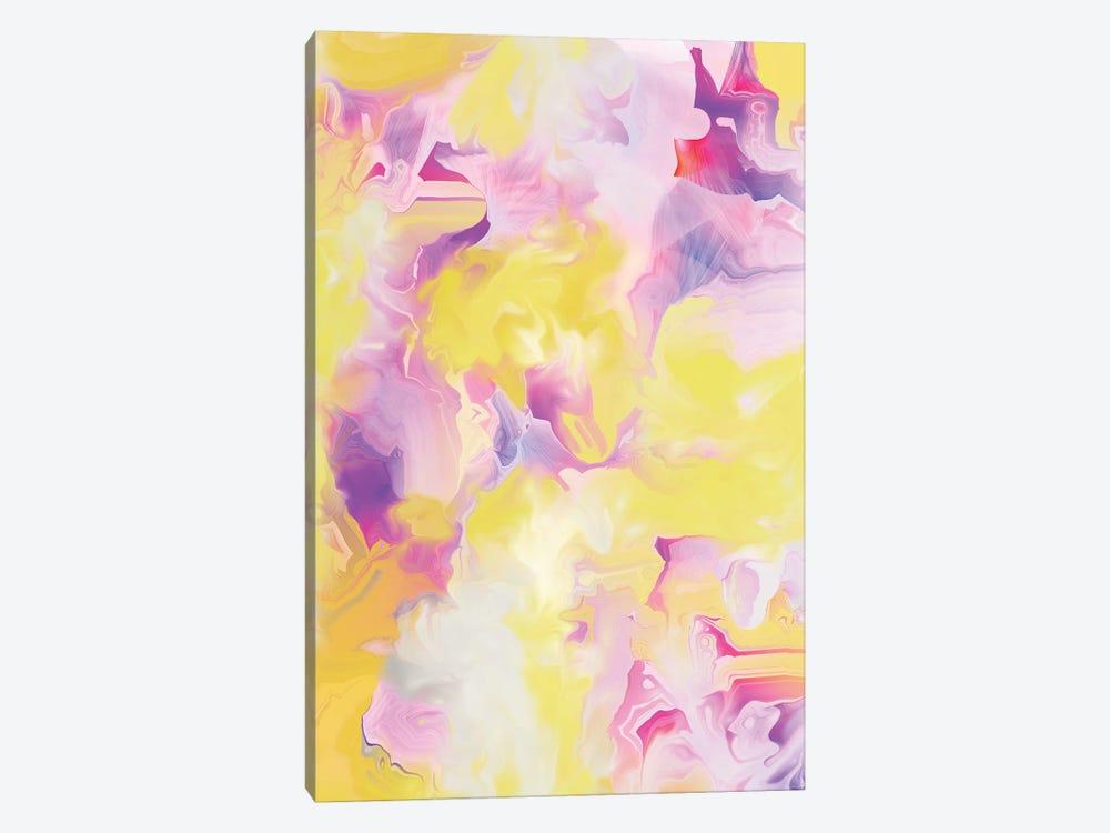 Yellow My World VII by Christine Auda 1-piece Canvas Art Print