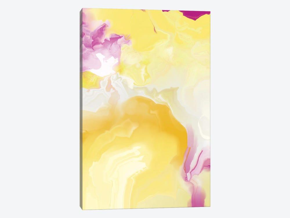 Yellow My World VIII by Christine Auda 1-piece Canvas Art