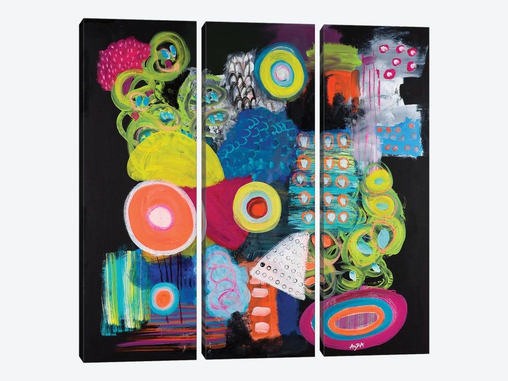 Fantabulous by Christine Auda 3-piece Canvas Print