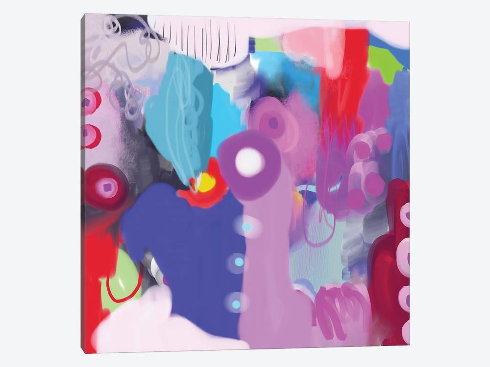 Feelin' it by Christine Auda 1-piece Canvas Wall Art