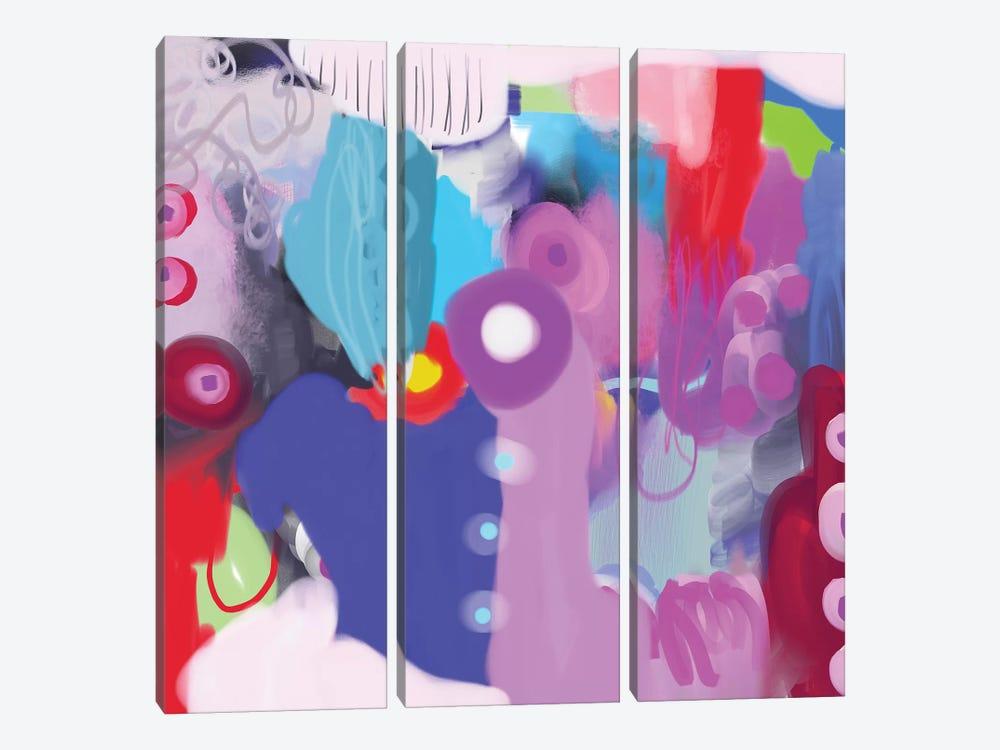 Feelin' it by Christine Auda 3-piece Canvas Art