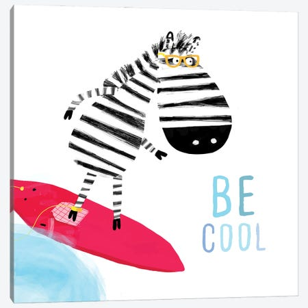Be Cool Canvas Print #CAY33} by Carla Daly Canvas Artwork