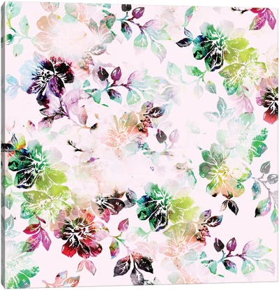 Romantic Flowers Canvas Print #CBA10