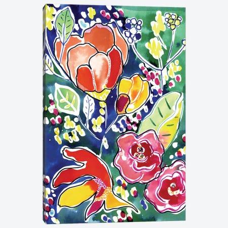 Tropical Garden Canvas Print #CBA15} by Cayena Blanca Canvas Print