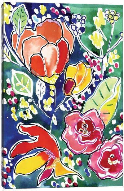 Tropical Garden Canvas Art Print
