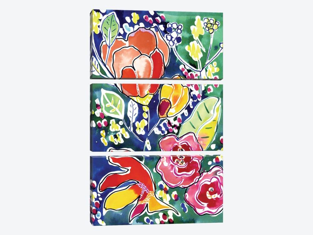 Tropical Garden by Cayena Blanca 3-piece Canvas Wall Art