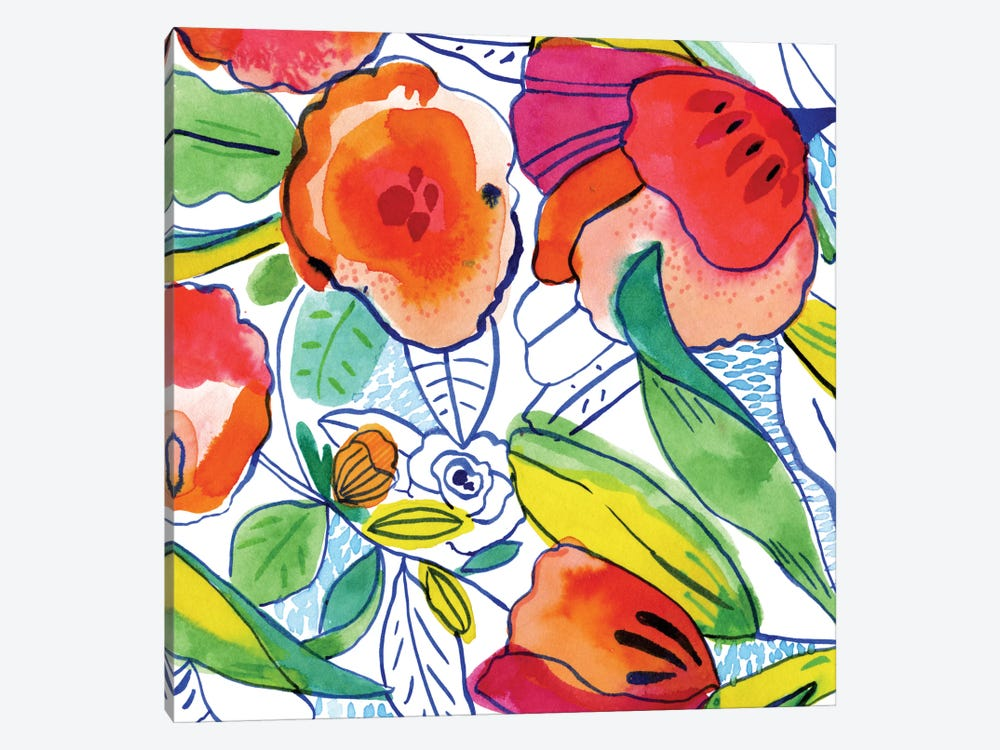 Tropicalia by Cayena Blanca 1-piece Canvas Art Print