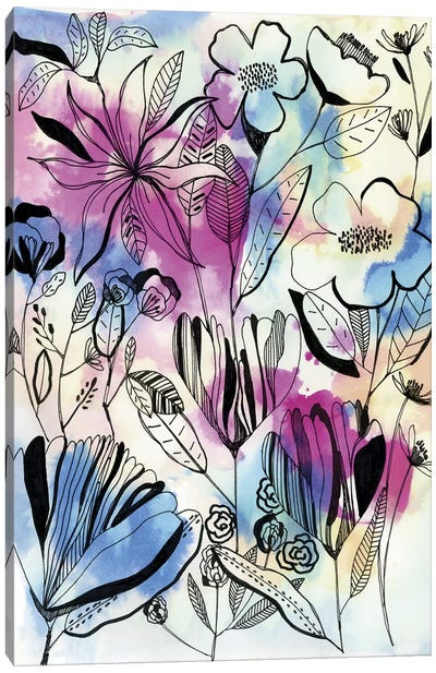 Wild Flowers Canvas Art Print