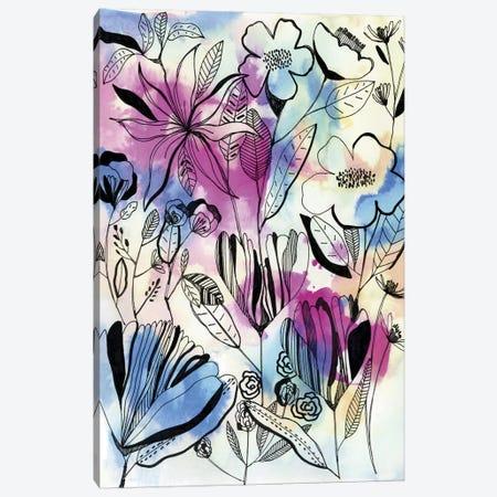 Wild Flowers I Canvas Print #CBA19} by Cayena Blanca Canvas Artwork