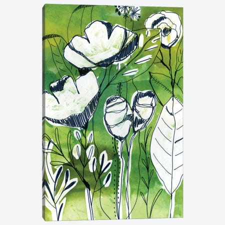 Abstract Garden Canvas Print #CBA21} by Cayena Blanca Canvas Print