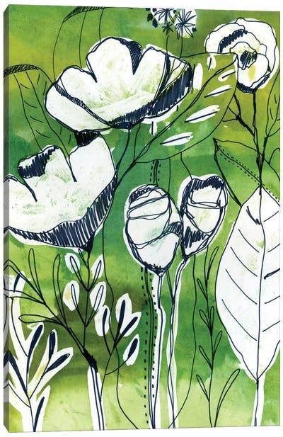 Abstract Garden Canvas Art Print