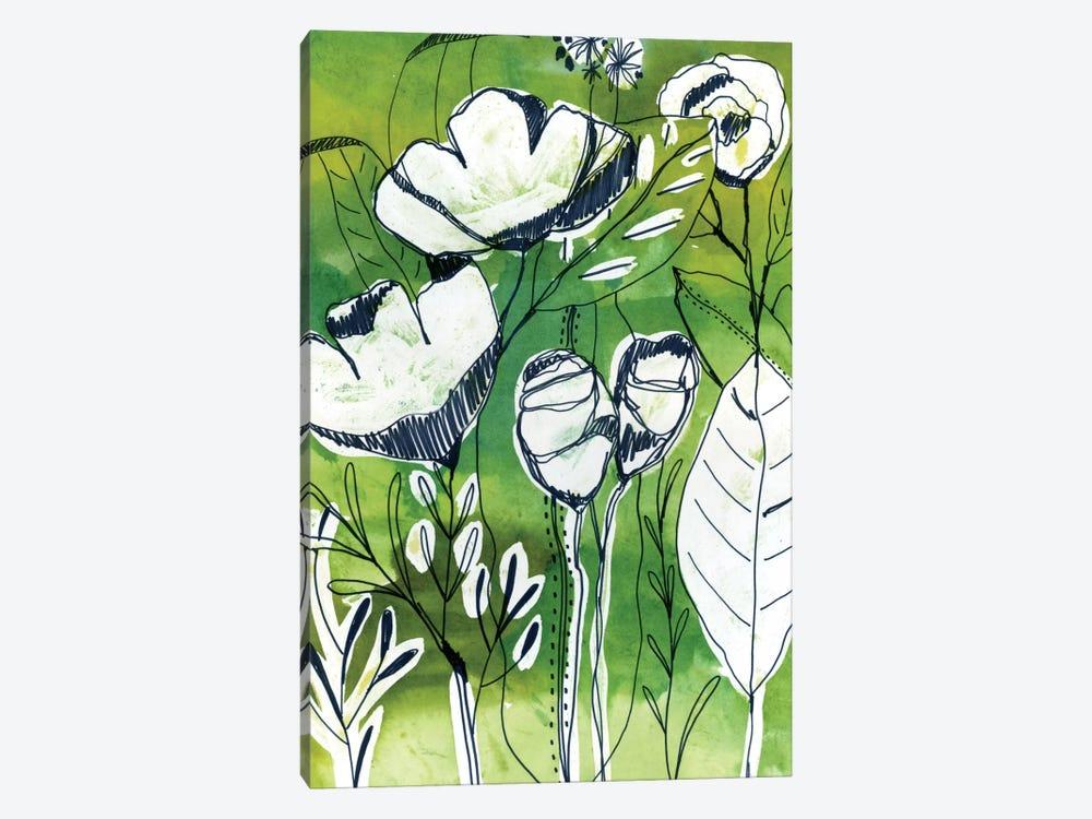 Abstract Garden by Cayena Blanca 1-piece Canvas Art Print