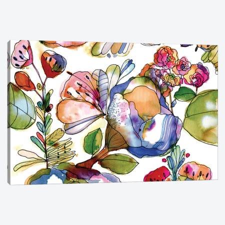 Bloosom Pastel Canvas Print #CBA24} by Cayena Blanca Canvas Artwork