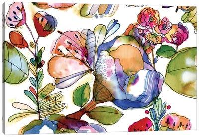 Bloosom Pastel Canvas Art Print
